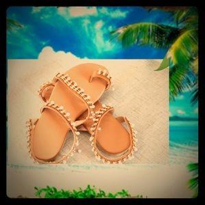 Bohemian/Greek sandals 8.5
